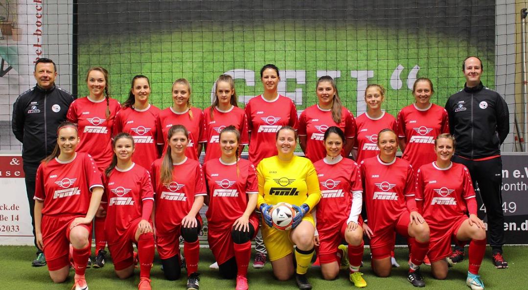 Die Damen in der fünften Saison in der Bezirksliga Süd