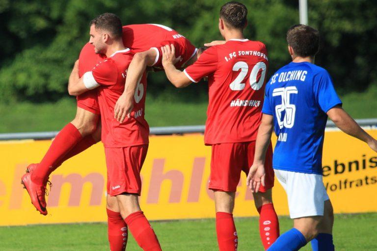 SC Olching – 1.FC Sonthofen 1:3 (1:1)