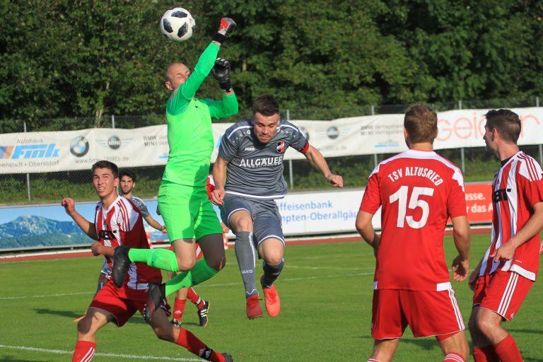 1.FC Sonthofen II – FC Oberstdorf (Samstag)