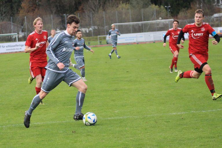 1.FC Sonthofen II – TSV Betzigau 2:3 (1:2)