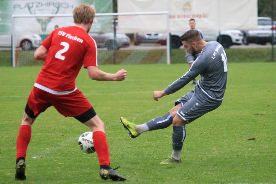 TSV Fischen – 1.FC Sonthofen II 2:0 (1:0)
