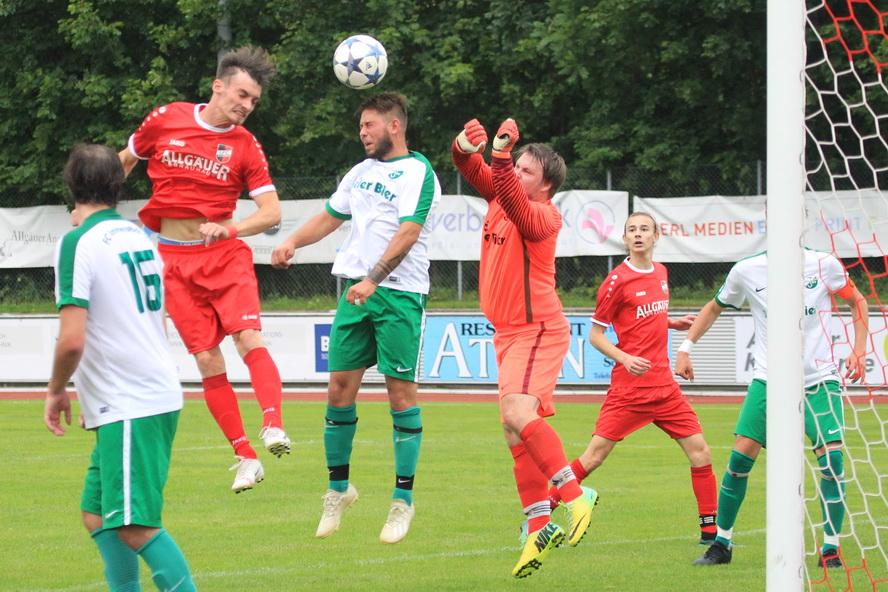 FC Wiggensbach – 1.FC Sonthofen II 2:2 (1:2)
