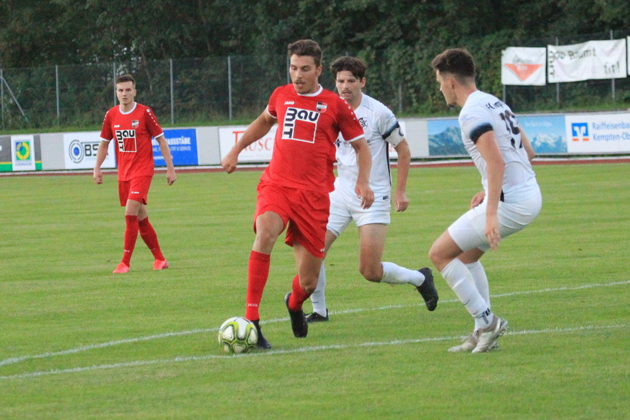1.FC Sonthofen – FC Kempten 4:2 (3:2)