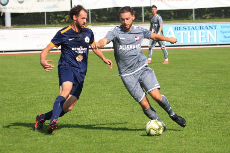 TSV Kottern II – 1.FC Sonthofen II 0:1 (0:1)