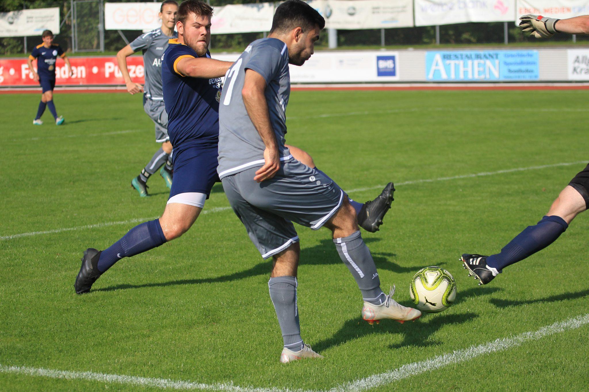 1.FC Sonthofen II – FC Oberstdorf (Mittwoch)
