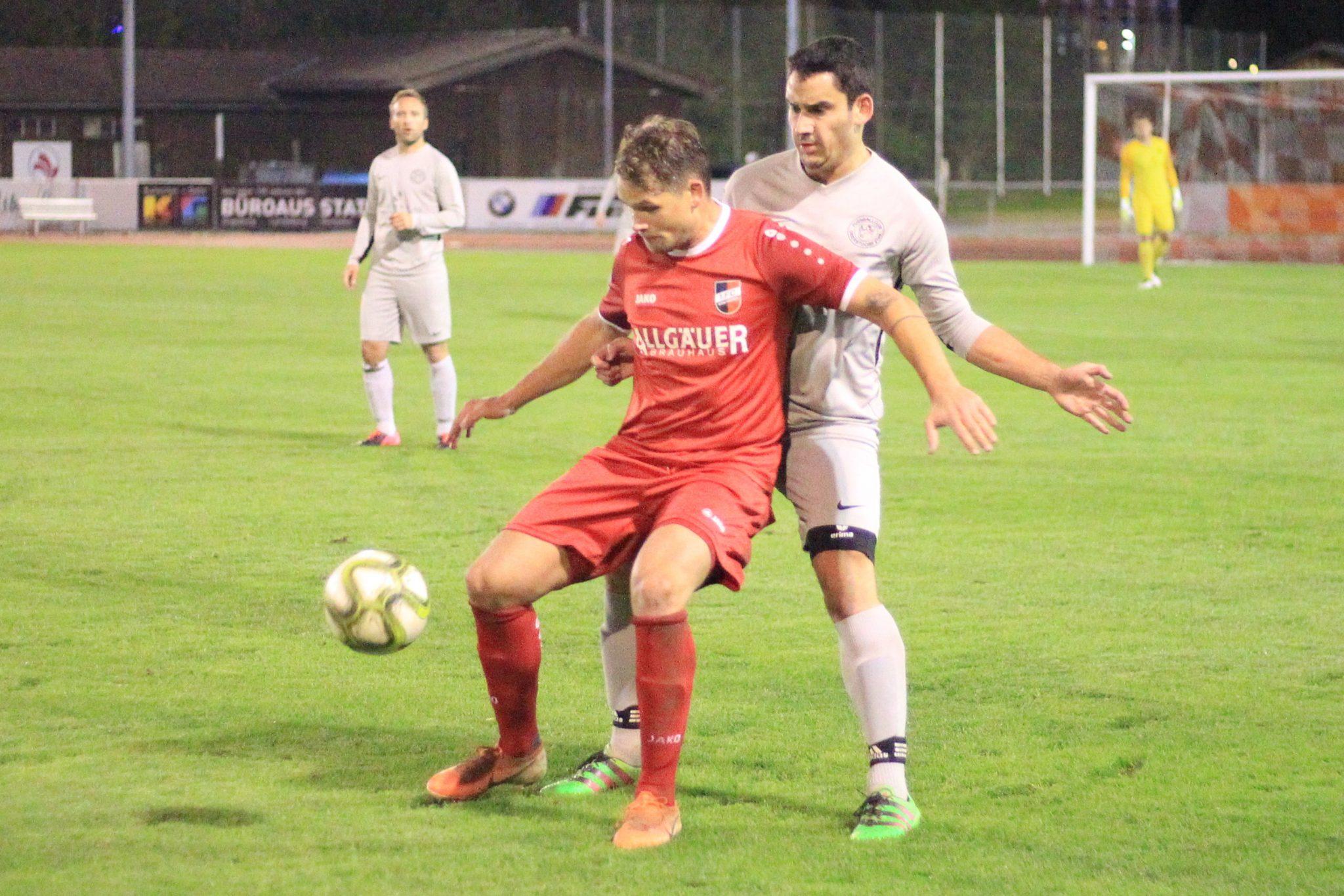 1.FC Sonthofen II – FC Oberstdorf 1:1 (1:1)
