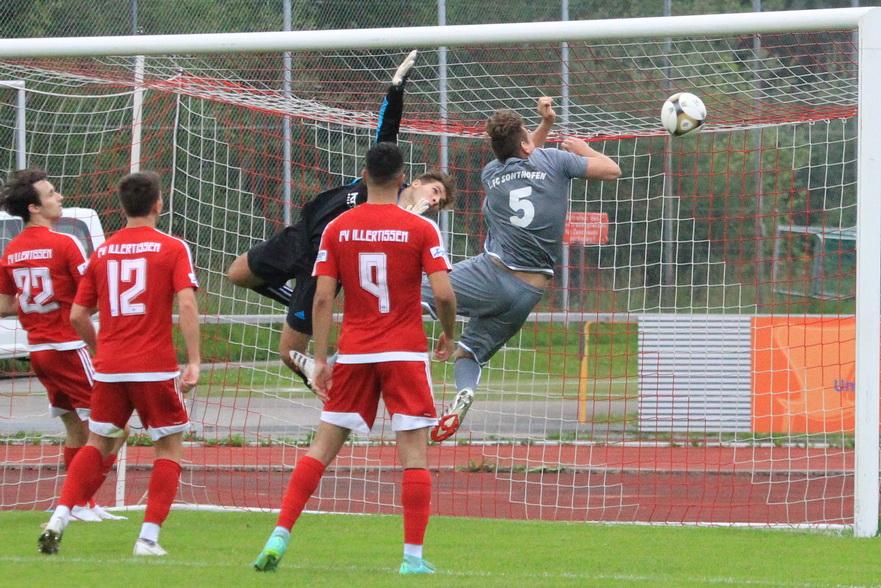 1.FC Sonthofen – FV Illertissen II 1:0 (0:0) ASV Fellheim – 1.FC Sonthofen II 1:3 (0:2)