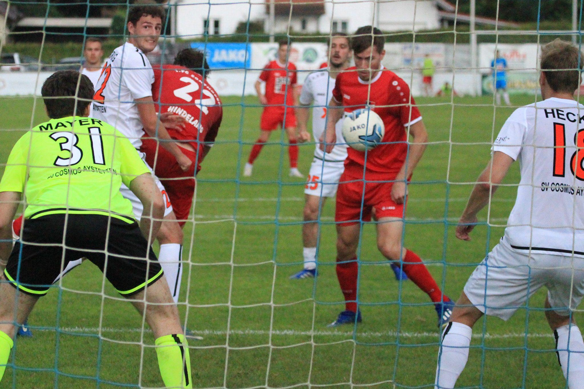 SV Cosmos Aystetten – 1.FC Sonthofen 0:1 (0:1)