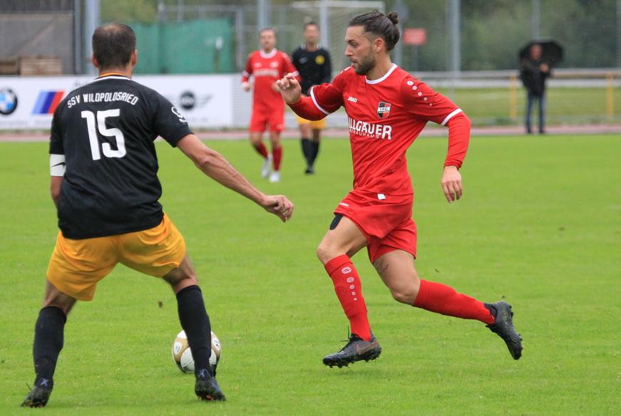1.FC Sonthofen II – SSV Wildpoldsried 4:1 (1:0)