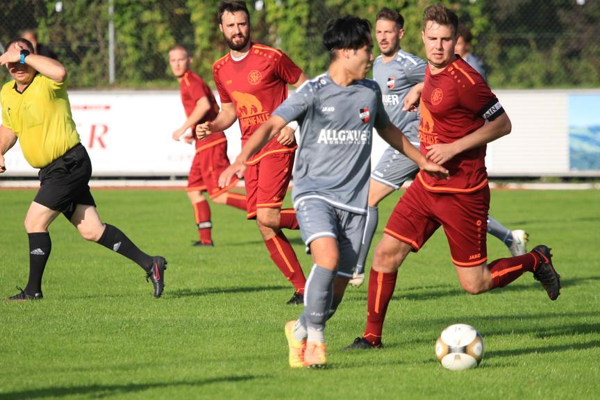 SG Kleinweiler-Wengen – 1.FC Sonthofen II 1:4 (1:2)