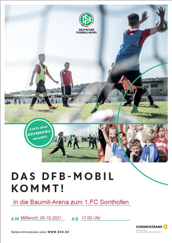 DFB-MOBIL kommt zum 1.FC Sonthofen