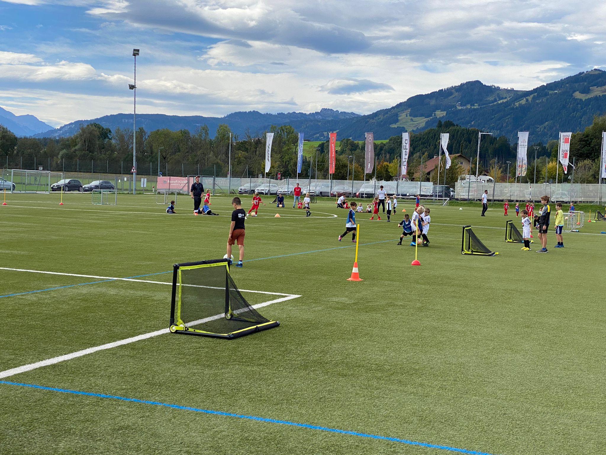 FUNino-Turnier der G-Junioren in Sonthofen